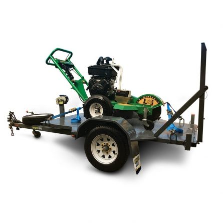 Medium Stump Grinder on Trailer