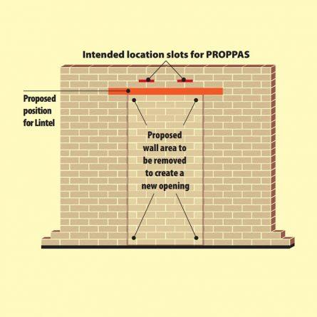 Masonary Wall Supports