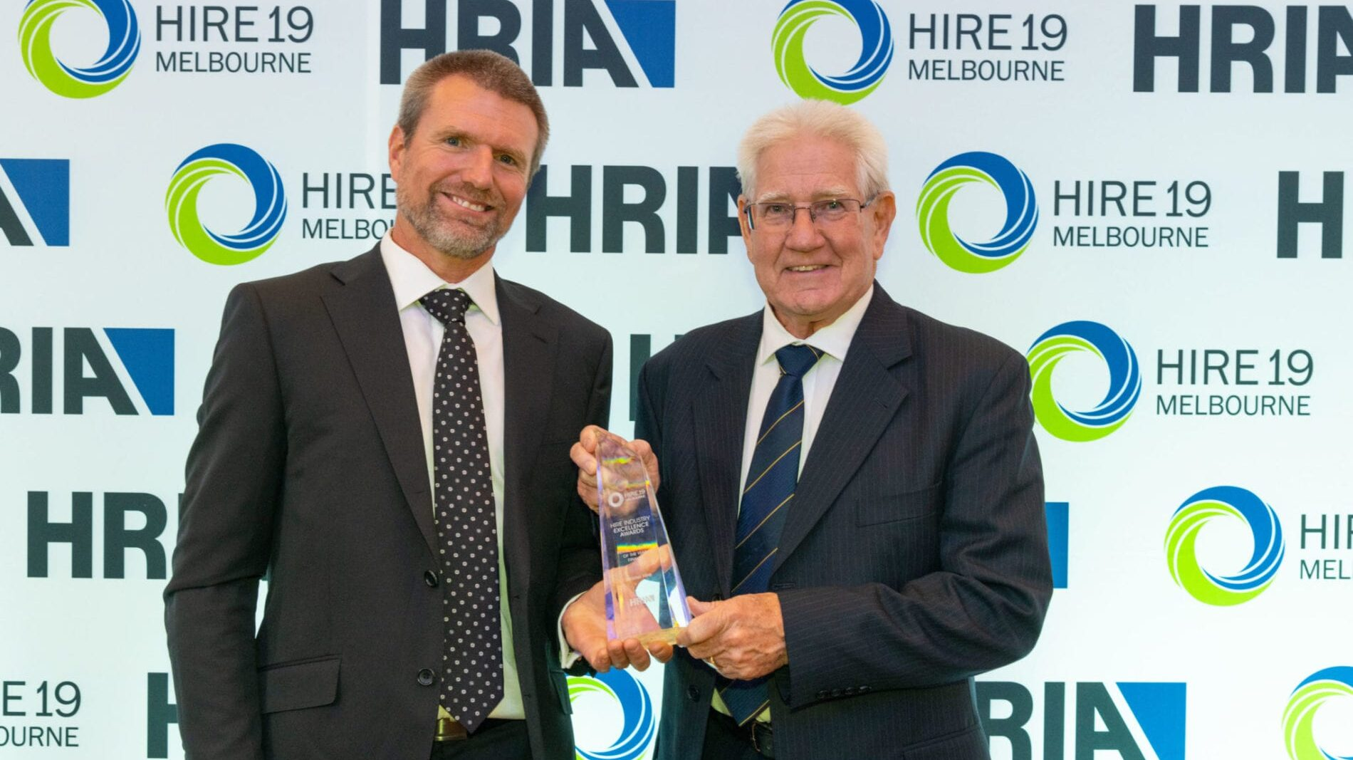 Scott and Peter Master Hire 2019 Rental Company of the Year