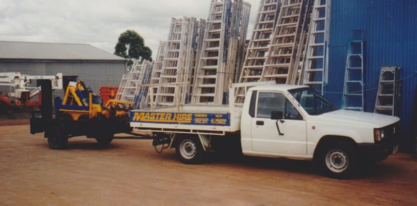 Master Hire Old Ute