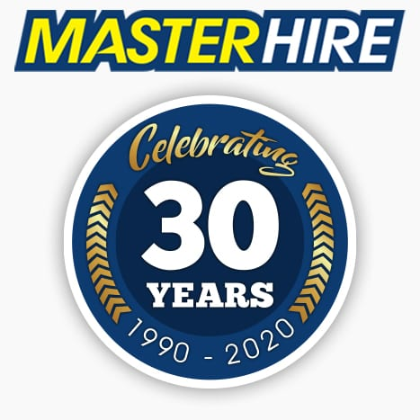 30 Years Master Hire Insignia
