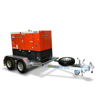 Trailer Mounted 33kVA Generators