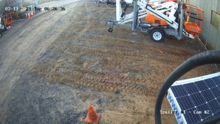 Trailer Mounted CCTV Camera Sample Footage